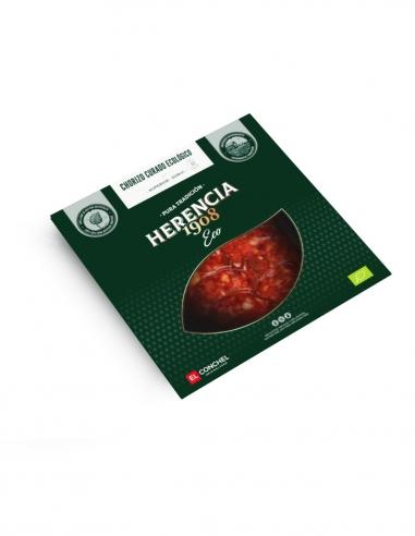 Chorizo ecológico loncheado 100 gr